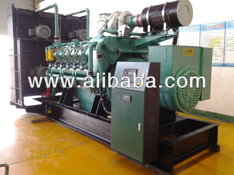 Gas Power generators from 45KW to 1600KW