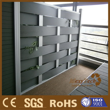 interior decoration -- plastic wood composite woven fence