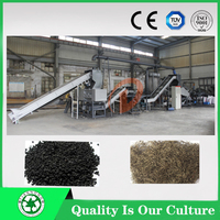 Scrap/waste/used rubber tyres crushing recycling machine plant