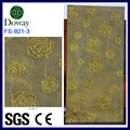 Embossed interior wall cladding board MDF texture wall panels