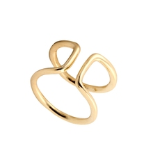 2016 fashion design simple style gold silver indian silver ring castings for men thumb