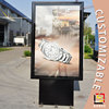 vertical poster frame led light box for outdoor advertising