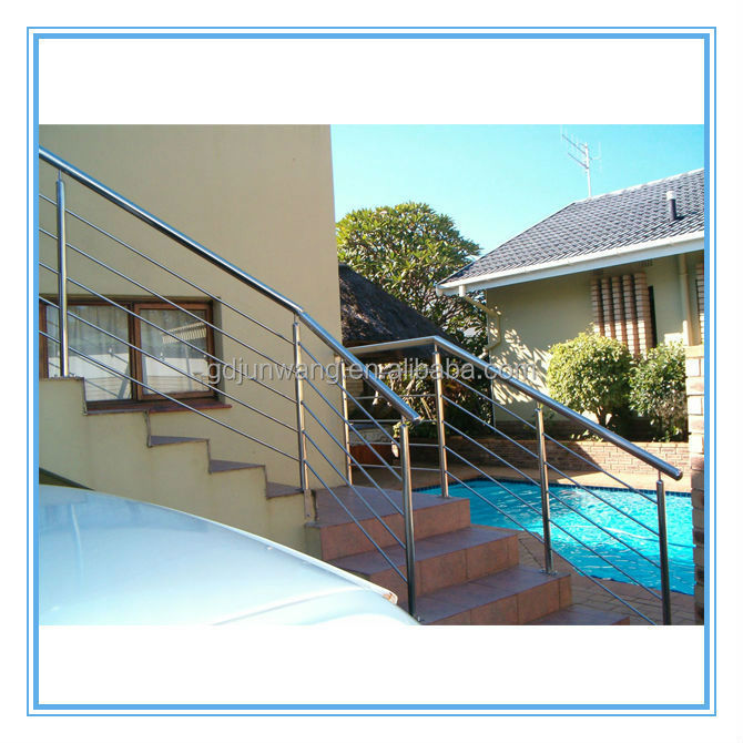 Free sample free courier outdoor metal stair railing designs