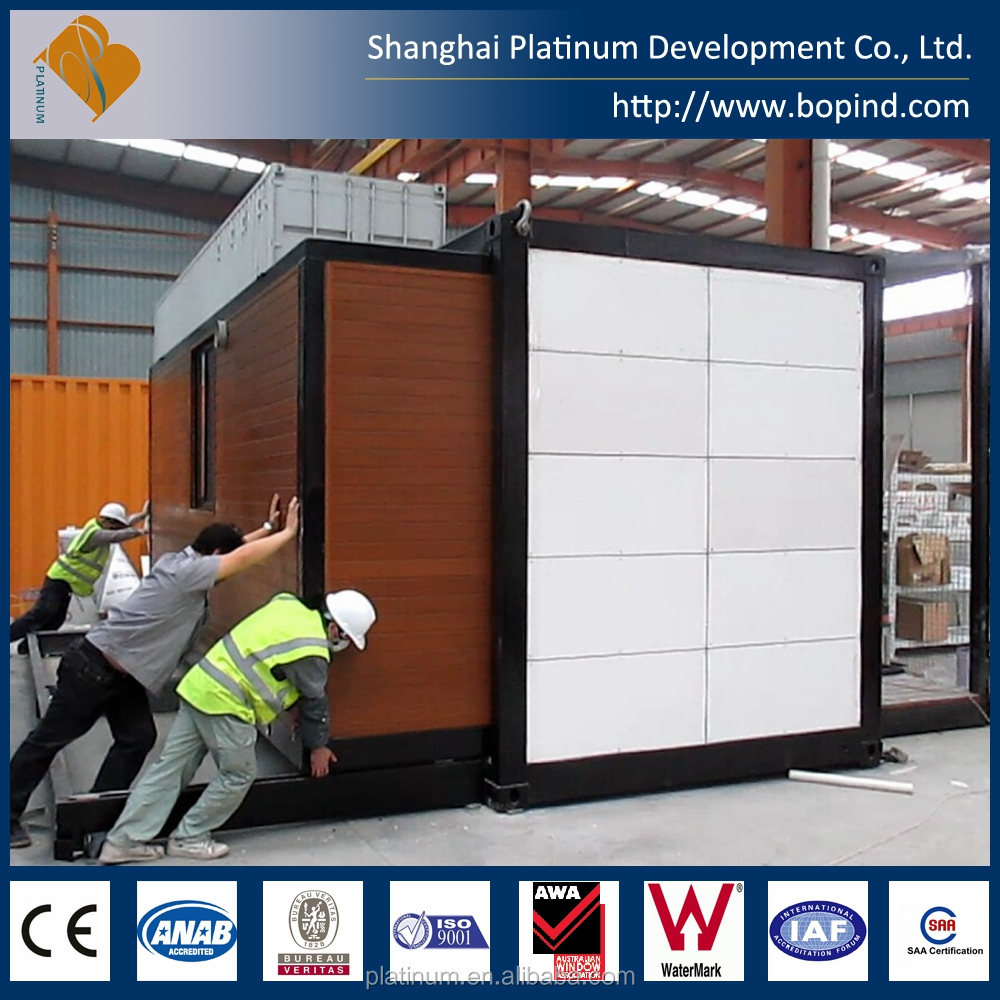 Fully Assembly Well Design Prefab Small Movable House, Transportable Cabin