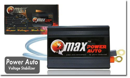 Qmax Power Auto Voltage Stabilizer - Fuel Saver