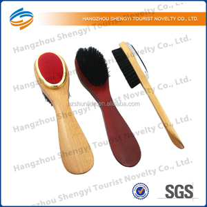 Wooden Hand Dust Cloth and Carpet Cleaning Brush