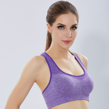 women fitness wear comfortable and breathable blue sports bra yoga sport bra