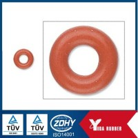 Custom made food grade color silicone rubber o ring for sealing with oil resistance