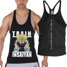 FREE SHIPPING!Train insayin mens gym tank 100% cotton wholesale cheapgym tank top and stock gym singlet