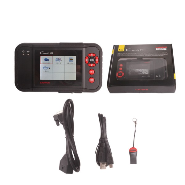 auto diagnostic tool LAUNCH Creader VIII Launch CRP129= CRP123 and CResetter Oil Lamp Reset tool Creader VIII Update Online