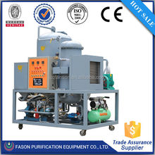 Environmental and power saving DTS lubricating waste oil recycling equipment