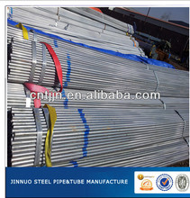 BS1387 galvanized steel pipe construction material(china)