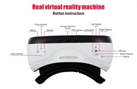 All in One 3d Glasses Virtual Reality Headset 3d Glasses VR with WIFI,BT and TF card supported