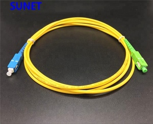 Telecom Quality SC/UPC to SC/APC 3mm fiber optic jumper