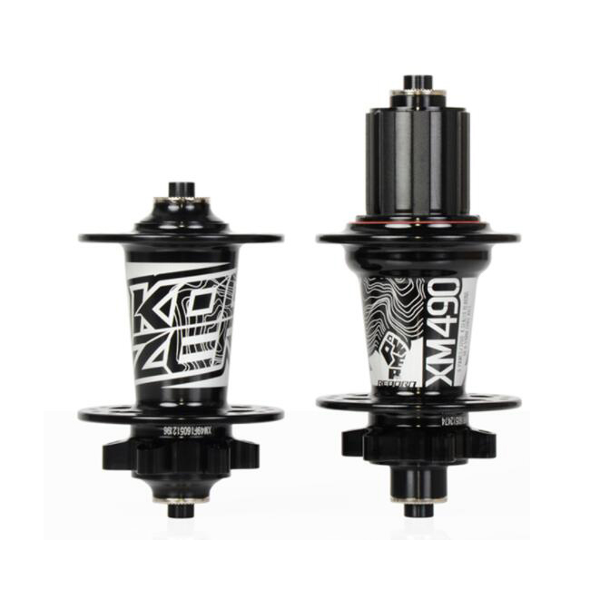 Koozer XM490 Sealed <strong>Bearing</strong> MTB Mountain Bike Hub Quick Release set Bike hub 32H Disc Brake 15/12mm Thru <strong>Axle</strong> QR Bicycle Hubs