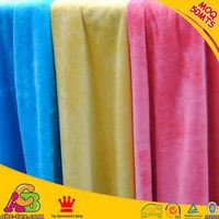 100 Polyester Dying Velour Fabric Passed Oeko tex 100 MS061