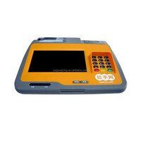 Good price tablet pos machine with 3G/wifi/android,thermal printer and 2D code software pos from factory ---039C