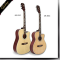Finlay GR-201C 40 inch high grade import guitars china wholesale electric acoustic guitar