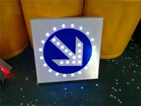 High quality aluminium property Solar traffic sign