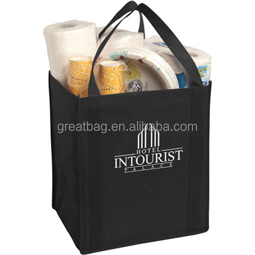 Cheap Recycled Non Woven Polypropylene Tote Grocery Bag