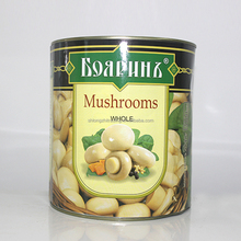 Canned Mini Champignons/ Mushroom Whole White In Tin Or Glass Jam