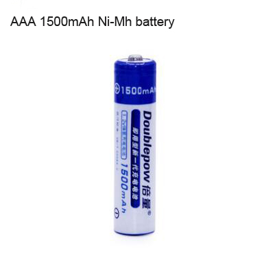 Rechargeable No.7 1.2V 1500mAh AAA Ni-Mh battery for Toys/Remote Control,flashlight