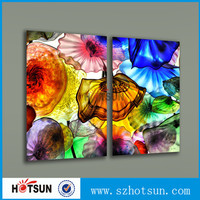 China factory custom wall mounted printing acrylic painting picture frame