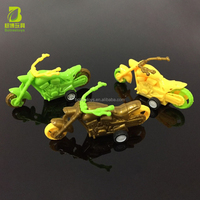 Pull Back Motorcycle Plastic Friction Toys Return Promotion Gifts