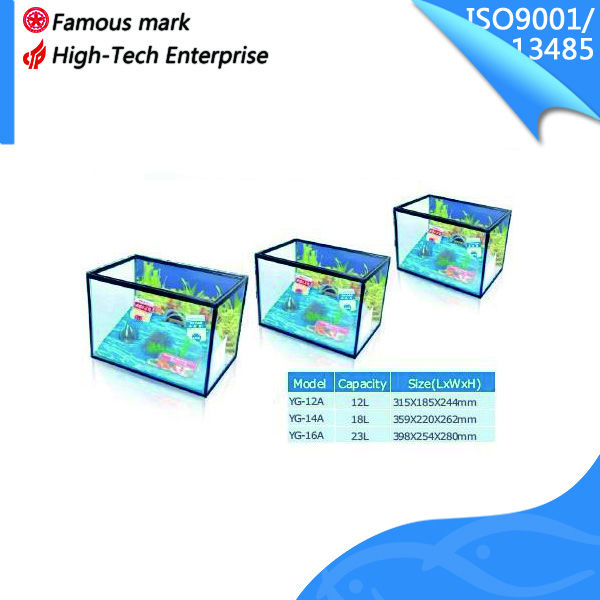 marine aquarium desktop fish tank kit