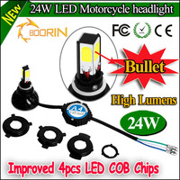 2015 devoloped h4 H6 led motorcycle front position light