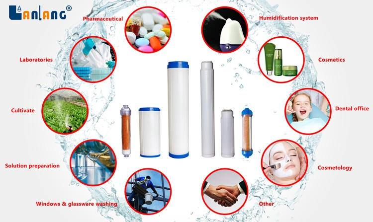 deionized water system di resin cartridge supplier