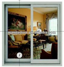 aluminum frame fixed glass windows