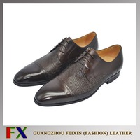 Premium quality China wholesale Coffee(customized) leader leather shoes for men