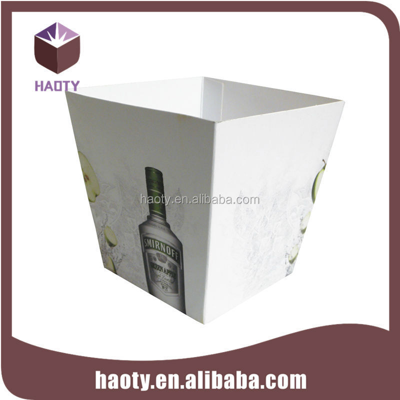Customized wine paper box forn vodka