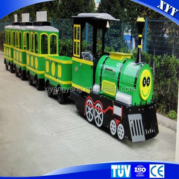 Hot sale amusement park electric trains