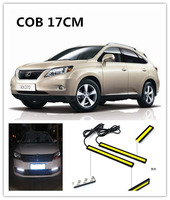17cm 480lm COB car LED led daytime running lights for honda crv