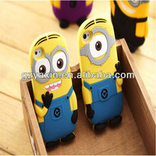 Silicon case for iPhone 5C thick mobile cover / cheap minions case for iPhone 5C protector / for iPhone 5C minions case
