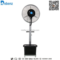Industrial mist spray fan for outdoor