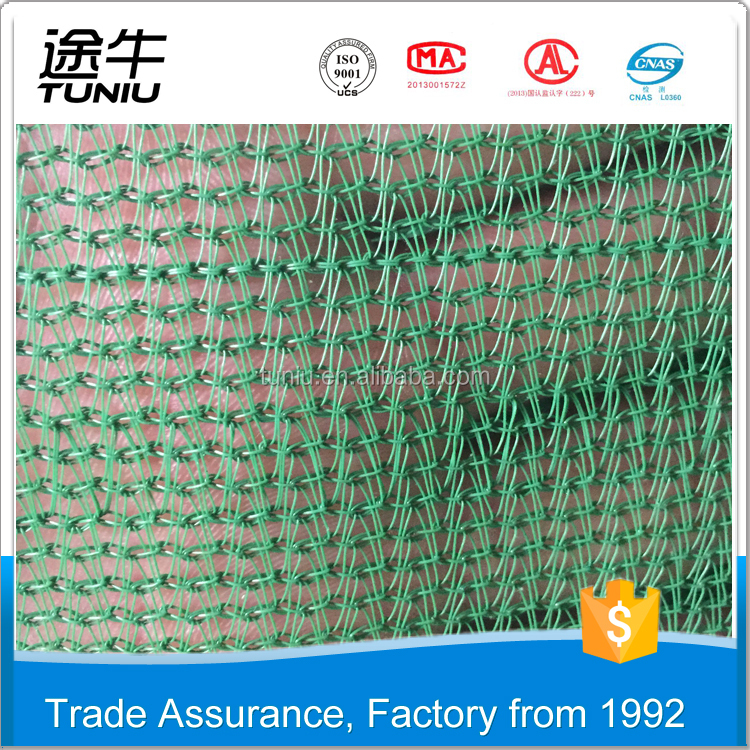 Best Service green/ blue scaffold construction safety net for building
