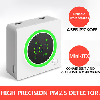 PM2.5 laser particle counter
