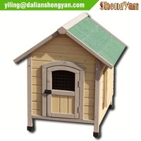 Indoor and outdoor dog house wood, dog kennel