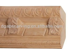 solid wood maple Crown Moulding