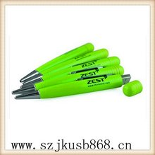 Creative qualified usb pens with writing