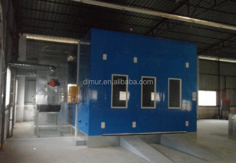 Car service station car care paint equipment cabin,spray bake paint booth CE approved