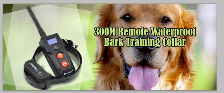 2016 Amazon Rechargeable Remote Training Dog Shock Collar For Humans Dog Slave Shock Collar E-collar Electric Dog Collar China