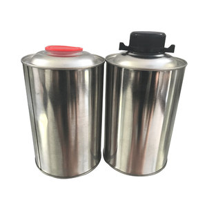 1L round engine oil can,motor oil tin can with spout cap 1 litre,printed brake oil can manufacturer