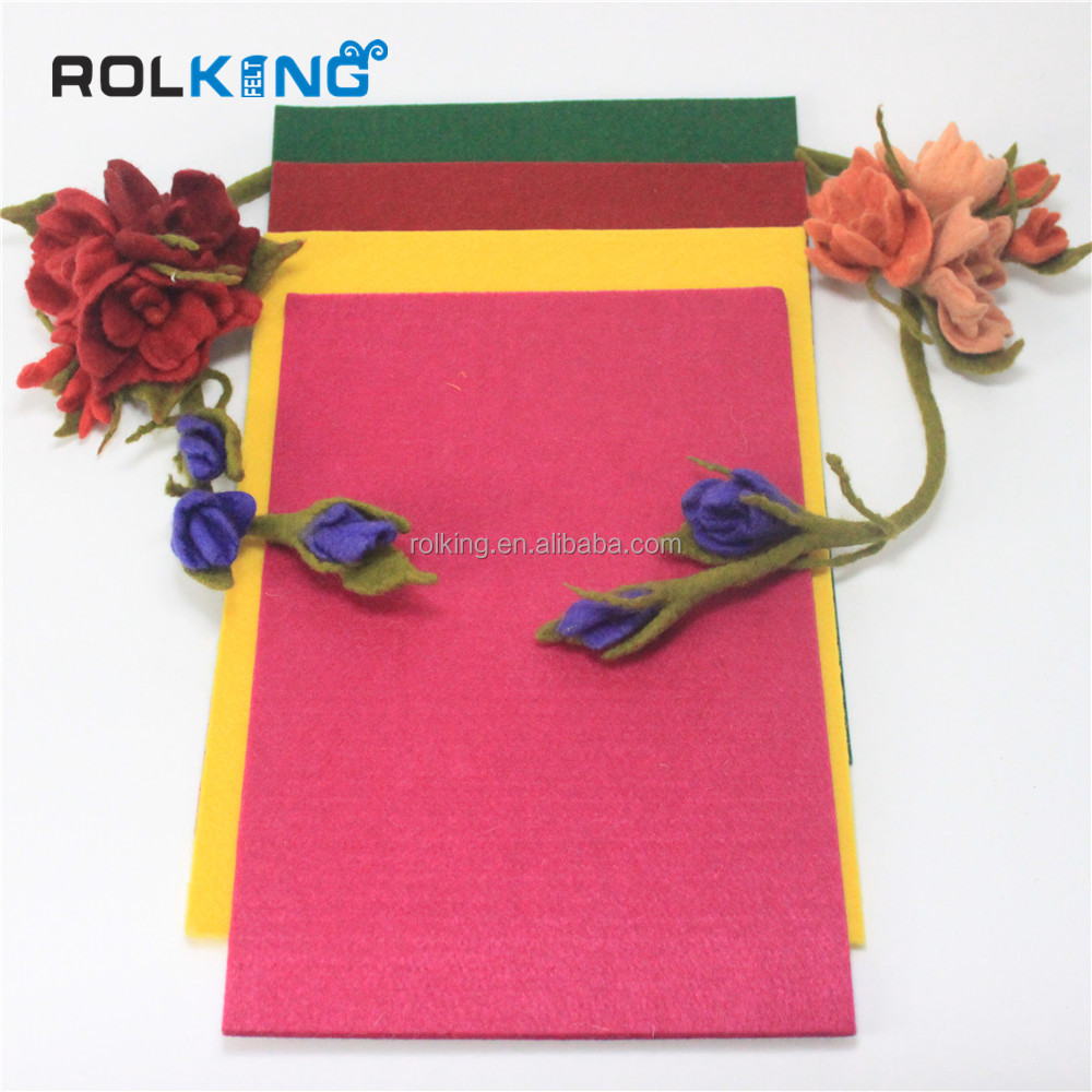 nonwoven wool felt batting