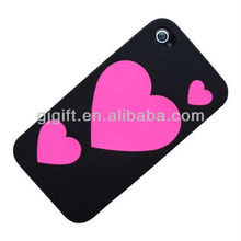 2014 soft rubber silicone customized mold cell phone case