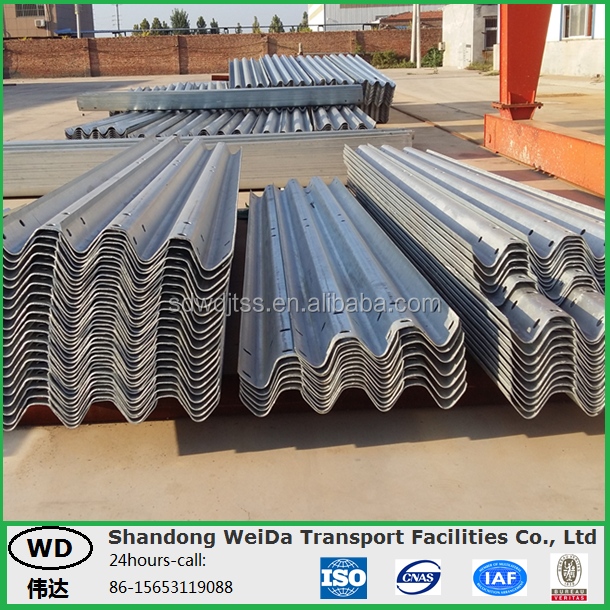 Galvanized Road Safety Barrier Highway Guard Rail for sale