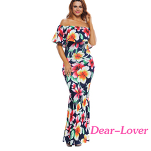 Womens Floral Print Off Shoulder Boho Maxi Dress Forever 21